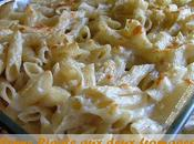 Penne rigate gourmandes deux fromages