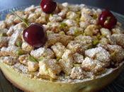 Tarte croustillante cerises pistaches (Pierre Hermé)