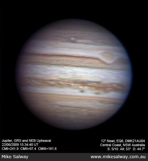 Jupiter - 3 heures de rotation et animation