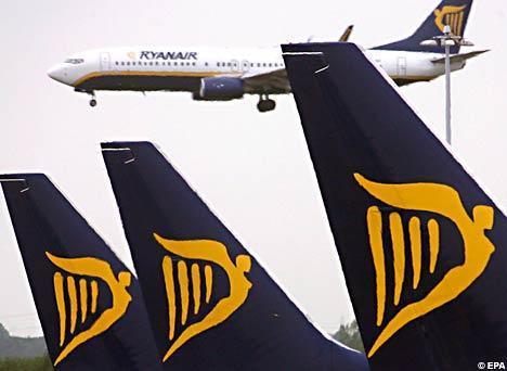 Ryanair autorise téléphone mobile et data en avion