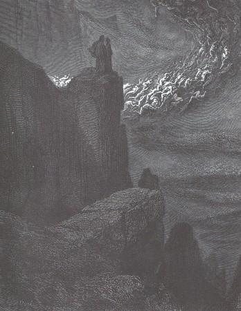 Gustave Doré, illustration pour l'Enfer de Dante, chant 5
