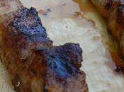 Brochettes Porc marinées Yuzu