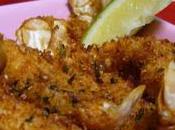 Crevettes frites noix coco