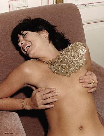 Lily Allen nue