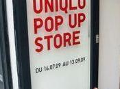 concept store éphémère d'Uniqlo Store