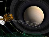 Promenade virtuelle autour Saturne