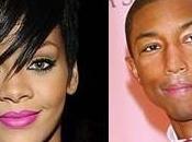 Rihanna Pharrell Williams ensemble