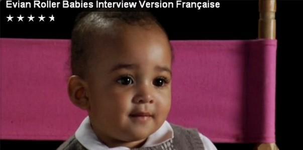 Evian : l'interview des Roller babies - énorme…!