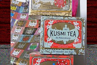 une petite tasse de th kusmi tea paperblog. Black Bedroom Furniture Sets. Home Design Ideas