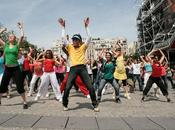 FlashMob pour Michael Jackson, Paris