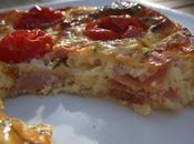 clafoutis tomates cerises jambon parme