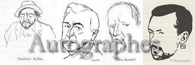 Une nouvelle liste d'Autographes de William Théry