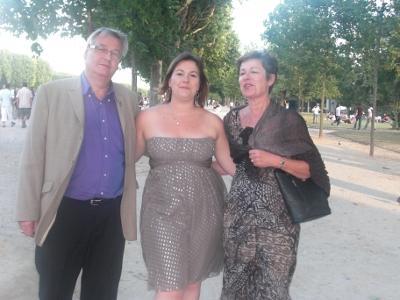 Margaux et les parents