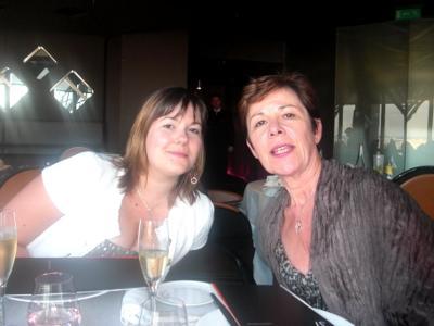 Margaux et maman
