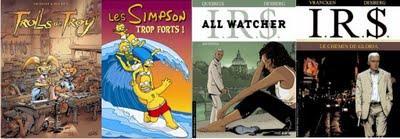 Meilleures ventes BD hebdomadaires au 26 juillet 2009