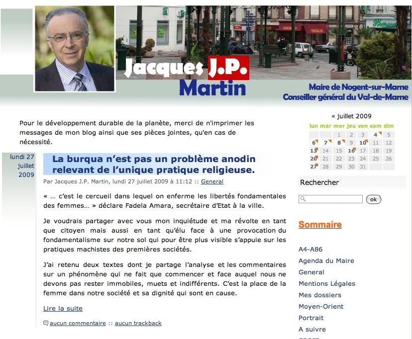 Blog de Jacques JP Martin