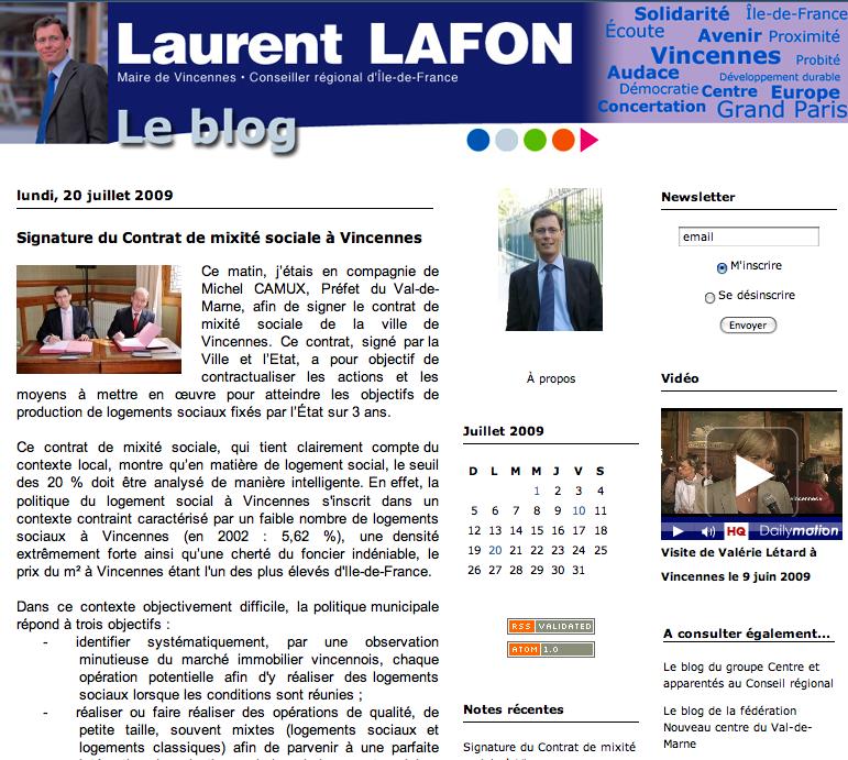 Blog de Laurent Lafon