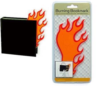 Un marque-page pour mettre le feu autour de vous !