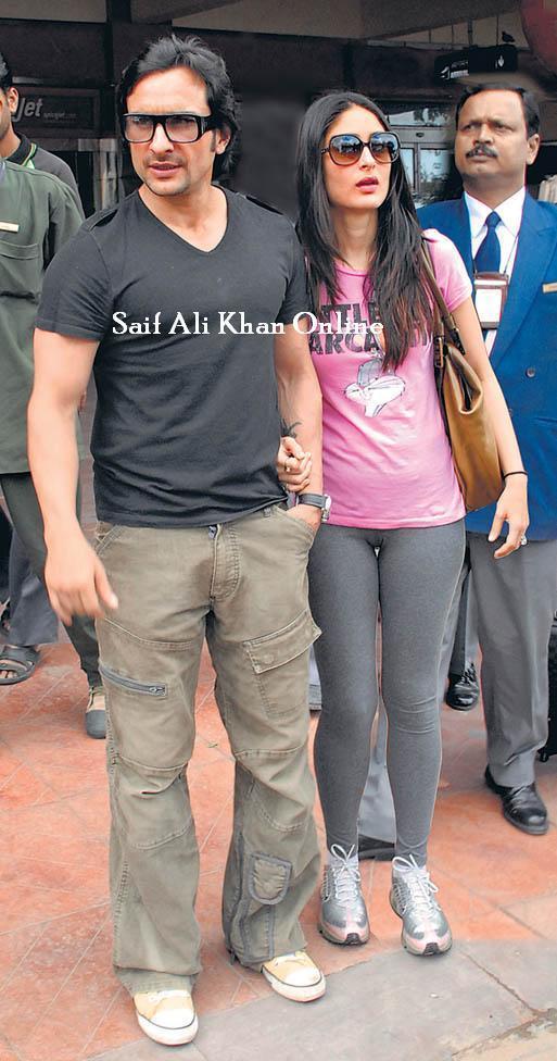 Saif Ali Khan & Kareena Kapoor font la promo de Love Aaj Kal à Jaipur.
