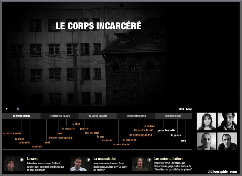 Le corps incarcéré