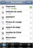 MobileMe pour iPhone