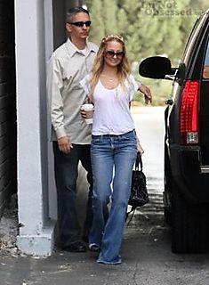 T_shirt blanc jean