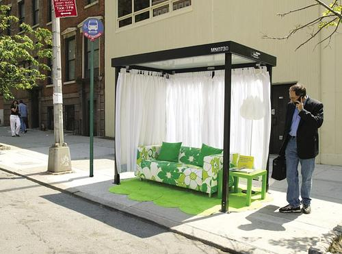 Ikea Bus Shelter