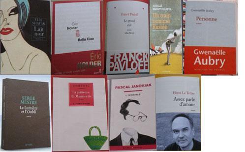 Tendances des couvertures de la rentrée littéraire 2009
