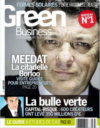 Green Business - Le magazine de la gestion durable en entreprise