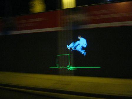 Rexona tout en lumière par Lumina Motion