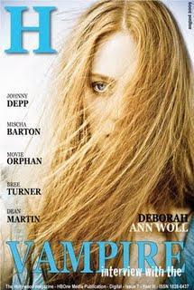 [couv] Deborah Ann Woll pour H Magazine