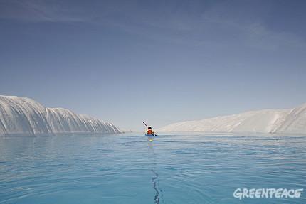 Premiers résultats inquiétants de l'expédition scientifique de Greenpeace dans l'Arctique