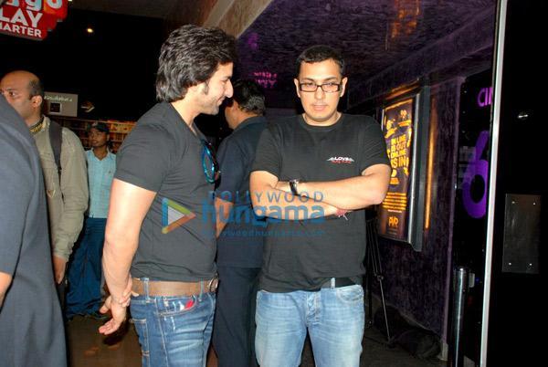 Saif, Deepika, Imtiaz à la projection spéciale de Love Aaj Kal