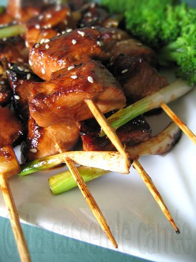 Brochettes de poulet huli-huli