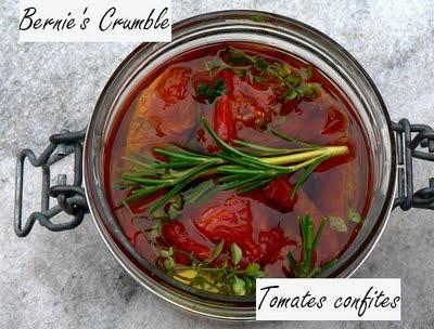 Des tomates confites pour blogueuse déconfite !