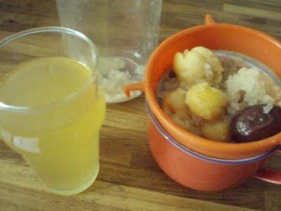 Soda maison au kéfir de fruits