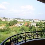 vue d'un des balcons de nos appartements