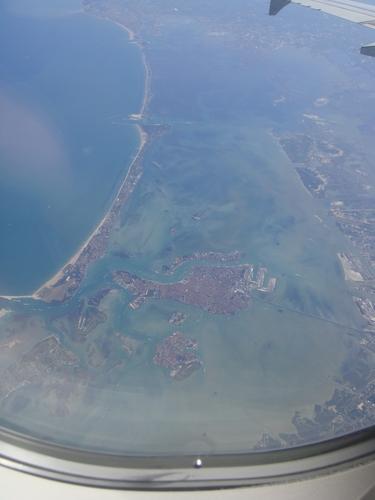 Venise, vue du Ciel