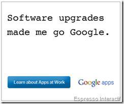 Publicité Google - Google Apps
