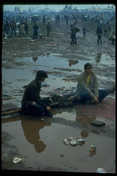 Août 1969: Woodstock.