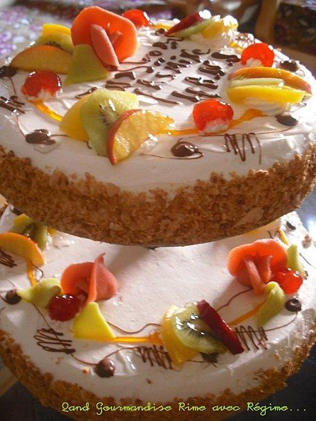 Un Super Gâteau d'anniversaire pour ma Souricette!