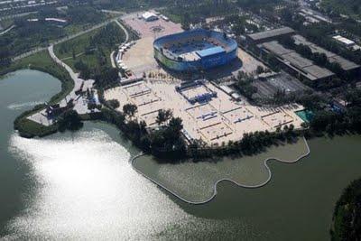 Chaoyang Park beach ouvert au public