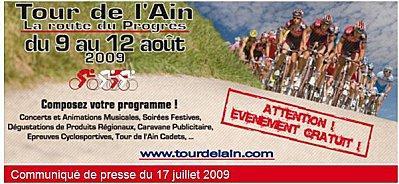 Tour de l'Ain 2009 - Les coureurs engagés