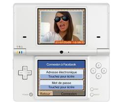 Facebook sur Nintendo DSi !