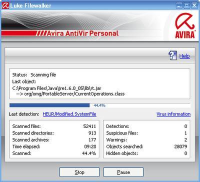 Avira AntiVir Personal Edition - Free