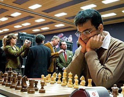 Vishy Anand, le champion du Monde d'échecs © Fred Lucas