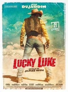 Jean Dujardin s'affiche en Lucky Luke