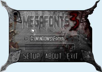 MegaFonts Reloaded v 3.6