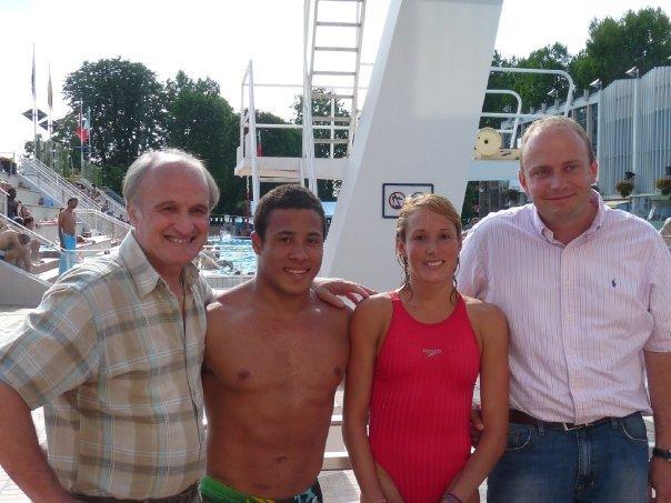 Audrey Labeau – Damien Cely : 2 plongeurs de la VGA aux mondiaux de Rome