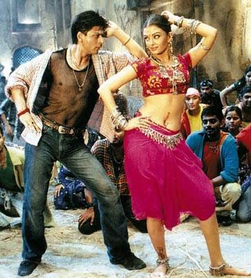 Shahrukh Khan Aishwarya Rai couple jodi bollywoodme